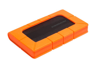 Kingwin KH-203U3-BKRG Rugged Anti Shock 2.5inch SATA HDD External Enclosure