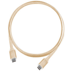 Silverstone SST-CPU06G-1000 (Gold) Reversible USB 3.1 Gen 2 Type-C Cable (1.0m)