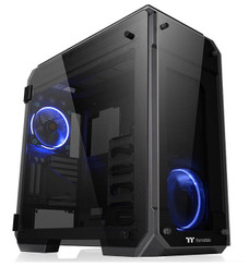 Thermaltake CA-1I7-00F1WN-00 View 71 Tempered Glass Edition Full Tower Chassis