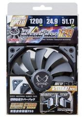 Scythe SU1225FD12M-RH (1200RPM) Kaze Flex 120 120x120x27mm Case Fan