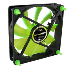 Gelid Gamer 120x25mm Case Fan Wing 12 UV Green