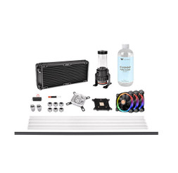Thermaltake CL-W216-CU00SW-A Pacific M240 D5 Hard Tube Water Cooling Kit