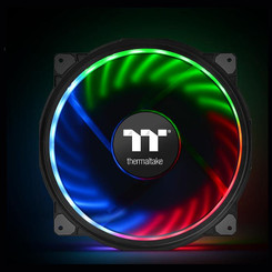 Thermaltake CL-F070-PL20SW-A Riing Plus 20 LED RGB Case Fan TT Premium Edition (Single Fan Pack w/o Controller)