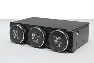 REEVEN RFC-04 Polariz Fan Controller - Black