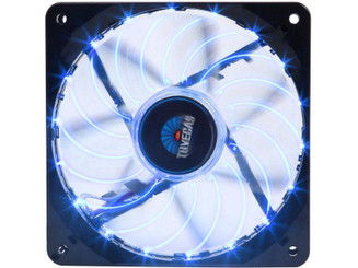Enermax UCTVS12P-BL T.B.VEGAS SINGLE PWM 120mm Blue LED Case Fan w/ APS control