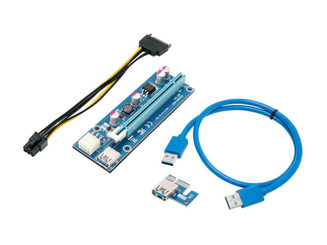 Rosewill RCRC-17001 PCIe 16x USB EXT Cable USB Ethereum Mining Riser Card