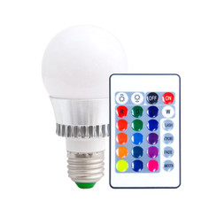 K2627 Color Changing LED Bulb w/ Remote Control