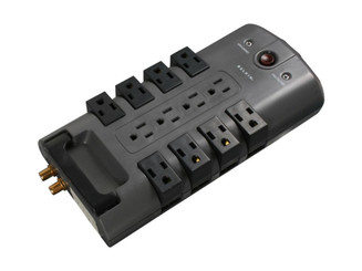 BELKIN BP112230-08 8 Feet 12 Outlets 4320 Joules Pivot-Plug Surge Protector