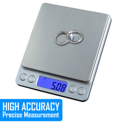 Kingwin KLCD-500S Digital LCD Kitchen Scale 500g x 0.01g