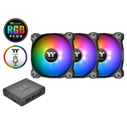 Thermaltake CL-F064-PL14SW-A Pure Plus 14 LED RGB Radiator Fan TT Premium Edition (3-Fan Pack)