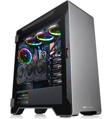 Thermaltake CA-1L3-00M9WN-00 A500 Aluminum Tempered Glass Edition Mid Tower Chassis