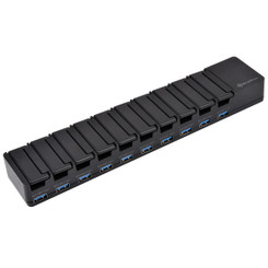 Silverstone UC04B-PRO 10 Port Multi Device Charging/Data Transfer Station
