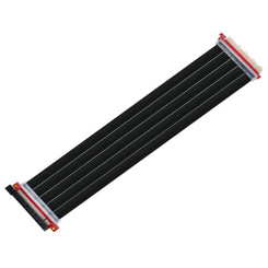Silverstone SST-RC04B-400 PCIe x16 Flexible 400mm Riser Ribbon Cable