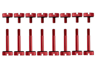 Corsair CC-8900102 Crystal Series 570X Red, Anodized Aluminum Thumb Screw