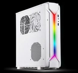 Silverstone SST-RVZ03W-ARGB Mini-ITX/Mini-DTX Slim Desktop/HTPC Case