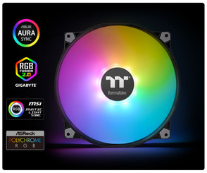 Thermaltake CL-F081-PL20SW-A PURE 20 ARGB SYNC 200mm CASE FAN TT PREMIUM EDITION