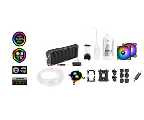 Thermaltake CL-W249-CU12SW-A Pacific C240 DDC Soft Tube Water Cooling Kit