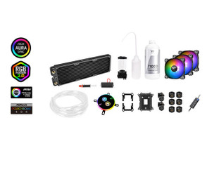 Thermaltake CL-W253-CU12SW-A Pacific C360 DDC Soft Tube Water Cooling Kit