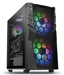 Thermaltake CA-1N3-00M1WN-00 Commander C 32 Dual 200MM ARGB Fans Tempered Glass ATX Mid-Tower Chassis