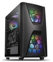 Thermaltake CA-1N5-00M1WN-00 Commander C 34 Dual 200MM ARGB Fans Tempered Glass ATX Mid-Tower Chassis