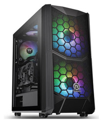 Thermaltake CA-1N6-00M1WN-00 Commander C 35 Dual 200MM ARGB Fans Tempered Glass ATX Mid-Tower Chassis