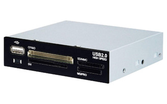 LCR96 3.5in Bay All-in-One USB2.0 Internal Card Reader