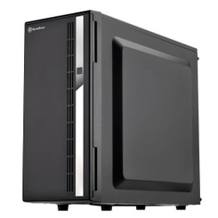 Silverstone SST-CS380B-USA Mid Tower 8-Bay 3.5/2.5inch SAS/SATA Drives Case