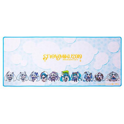Thermaltake Ttesports MP-DSH-BLKSXS-09 DASHER EXTENDED SNOW MIKU EDITION Gaming Mouse Pad