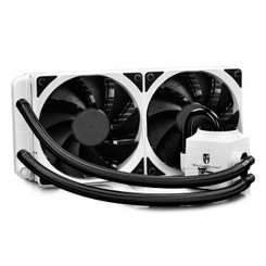DEEPCOOL  CAPTAIN 240EX RGB WHITE 240mm CPU Liquid Cooler