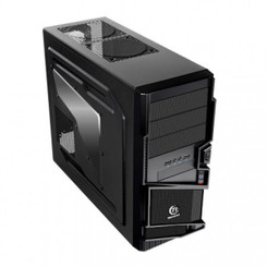 Thermaltake VN40001W2N-B Commander MS-I Mid Tower ATX Case Black