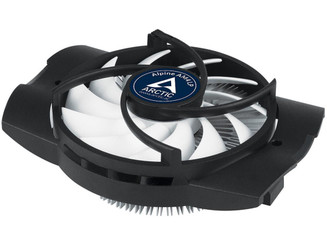 ARCTIC ACALP00023A Alpine AM4 LP Low Profile CPU Cooler