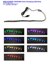 Antec RGB Accent Lighting - Color Changing LED Strip