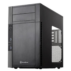 Silverstone SST-PS07B-W (Black + Window) Micro-ATX/DTX/Mini-ITX Tower Case