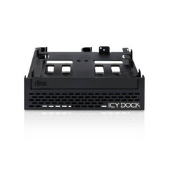 ICY DOCK MB344SPO 4x2.5 inch SATA HDD/SSD  & (Ultra)Slim ODD Mount to 5.25inch Bay
