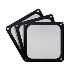 Silverstone SST-FF123B-3PK (Black, 3Pack) Ultra Fine 120mm Magnetic Fan Filter