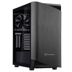Silverstone SST-SEA1TB-G (Titanium/Black, Tempered Glass) SETA A1 ATX Mid Tower Case