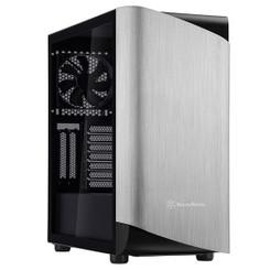 Silverstone SST-SEA1SB-G (Silver/Black, Tempered Glass) SETA A1 ATX Mid Tower Case