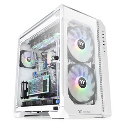 Thermaltake CA-1Q6-00M6WN-00 View 51 Tempered Glass Snow ARGB Edition