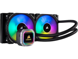 Corsair CW-9060039-WW H100i RGB PLATINUM Water Cooler