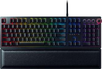 Razer RZ03-01870200-R3U1 Huntsman Elite Gaming RBG Mechanical Switch Keyboard