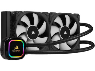 CORSAIR CW-9060043-WW iCUE H100i RGB PRO XT, 240mm Radiator Liquid Cooler