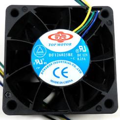 TOP MOTOR DF126025BE-3G 60x60x25mm Fan, 3 Pin