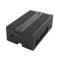 Silverstone SST-PI02B Raspberry Pi 4B Wall Mountable Aluminum Case