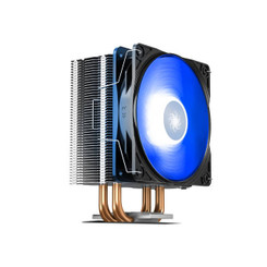 DEEPCOOL GAMMAXX 400 V2 BLUE 4 Heatpipes 120mm PWM Fan Blue LED CPU Cooler