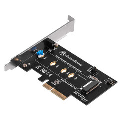 Silverstone SST-ECM21-E Screwless  M.2 PCIe/NVMe SSD to PCIe x4 Adapter Card