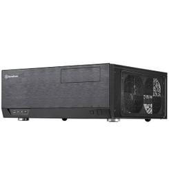 Silverstone SST-GD09B-C (Black, Type-C port) Grandia Series 358mm Depth HTPC Case
