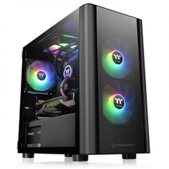 Thermaltake CA-1R1-00S1WN-00 V150 Tempered Glass Micro Chassis