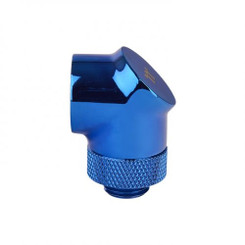 Thermaltake CL-W052-CU00BU-A Pacific G1/4 90 Degree Adapter – Blue (2-Pack Fittings)
