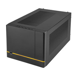 Silverstone SST-SG14B Mini-ITX Configurable Front Panel Cube Chasis