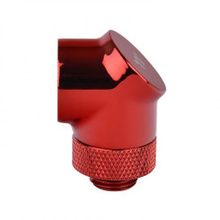 Thermaltake CL-W052-CU00RE-A Pacific G1/4 90 Degree Adapter – Red (2-Pack Fittings)